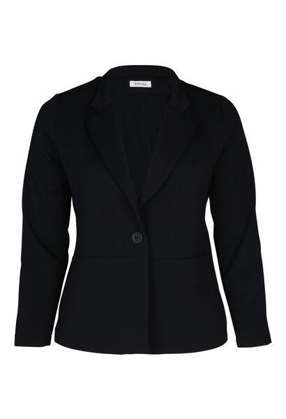Gekleed jasje - Marineblauw
