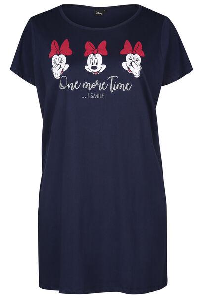 Jurk Minnie - Marineblauw