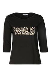 T-shirt met opdruk 'Wild'